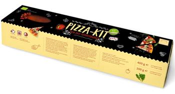 Ciasto na pizzę bio 400 g + sos pomidorowy (słoik) bio 200 g