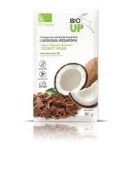 Czekolada kuwertura kokosowa bezglutenowa BIO 80 g  (BIO up)