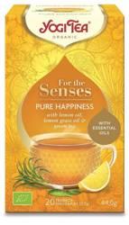 Herbatka Dla Zmysłów Szczęście Bio (20 x 2,2 g) 44 g - Yogi Tea