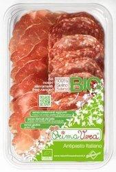 Karczek dojrzewający coppa di parma i salami milano plastry mix bezglutenowy BIO 70 g