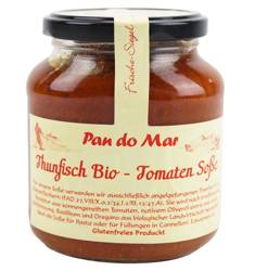 Kawałki tuńczyka w BIO sosie pomidorowym 340 g (słoik)
