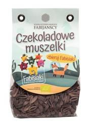 Makaron (kukurydziany z kakao) muszelki bezglutenowy BIO 250 g  (fabisiaki)