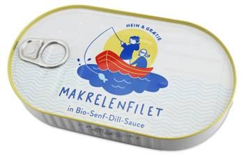 Makrela filet w BIO sosie musztardowo - koperkowym 200 g