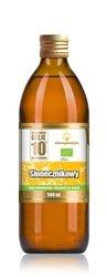 Olej słonecznikowy tłoczony na zimno BIO 500 ml
