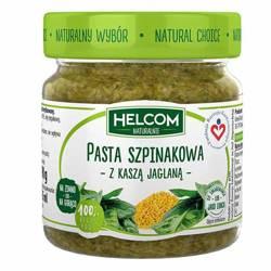 Pasta szpinakowa z kaszą jaglaną Helcom Naturalnie