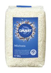 Ryż biały okrągły (mleczny) BIO 500 g