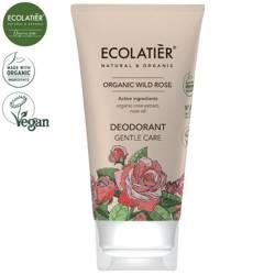 WILD ROSE Dezodorant DELIKATNA PIELĘGNACJA, 40 ml ECOLATIER